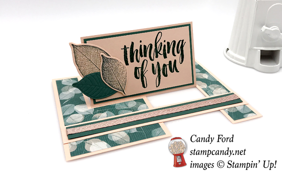 Stampin' Up! Rooted In Nature thinking of you handmade card by Candy Ford of Stamp Candy