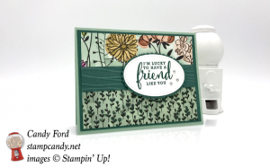 Handmade Card made using the Stampin Up Share What You Love Suite and the Love What You Do stamp set by Candy Ford of Stamp Candy