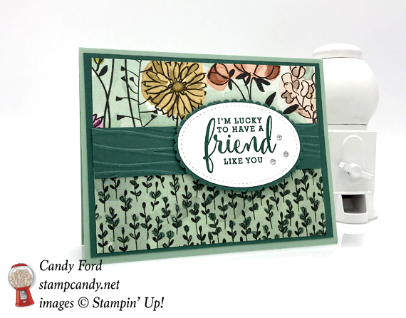 Stampin Up Share What You Loe Suite Love Whatt You Do stamp set handmade card by Candy Ford of Stamp Candy