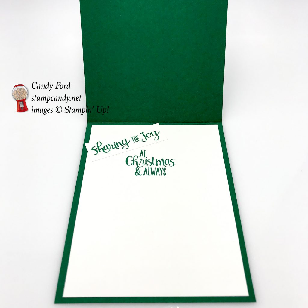 Ready for Christmas, Christmas Staircase, and Under the Mistletoe by Stampin' Up! #stampcandy