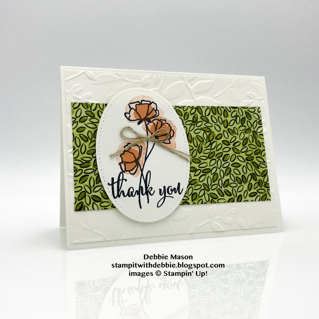 Debbie Mason, Share What You Love card, Stampin' Up!