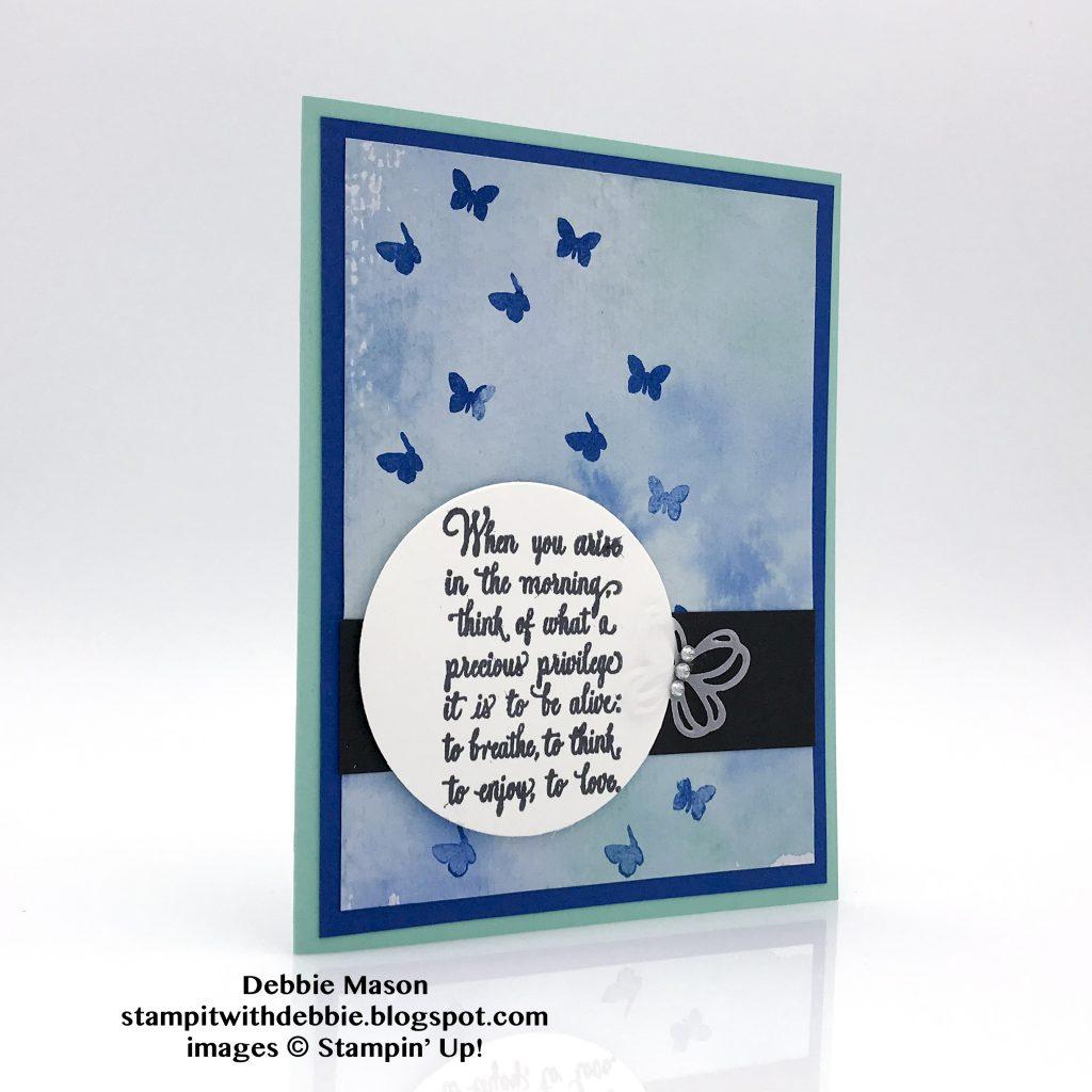 Enjoy Life card made by Debbie Mason