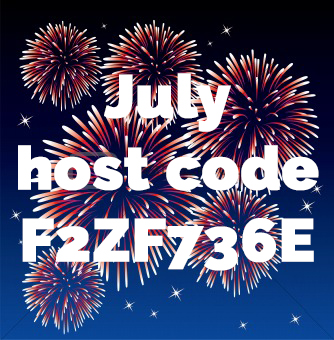 July 2018  Host Code #stampcandy