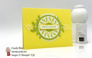 Stamparatus wreath card made with Peaceful Reflection stamp set by Stampin