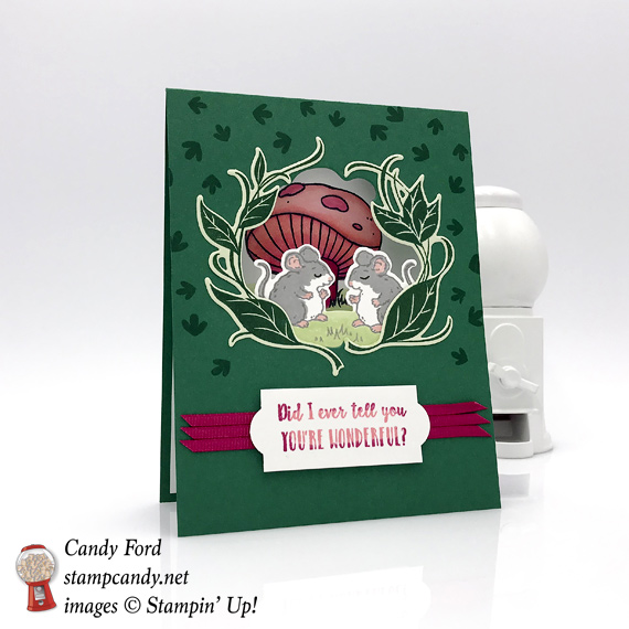 Stampin' Up! Sweet Storybook handmade card by Candy Ford of Stamp Candy