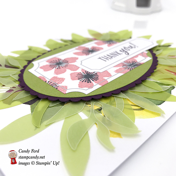 Blissful Blooms Paper Pumpkin kit August 2018 from Stampin' Up! APPT Blog Hop #stampcandy