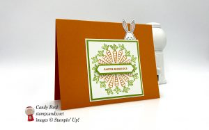 Best Bunny Itty Bitty Greetings Easter Blessings card, Stampin