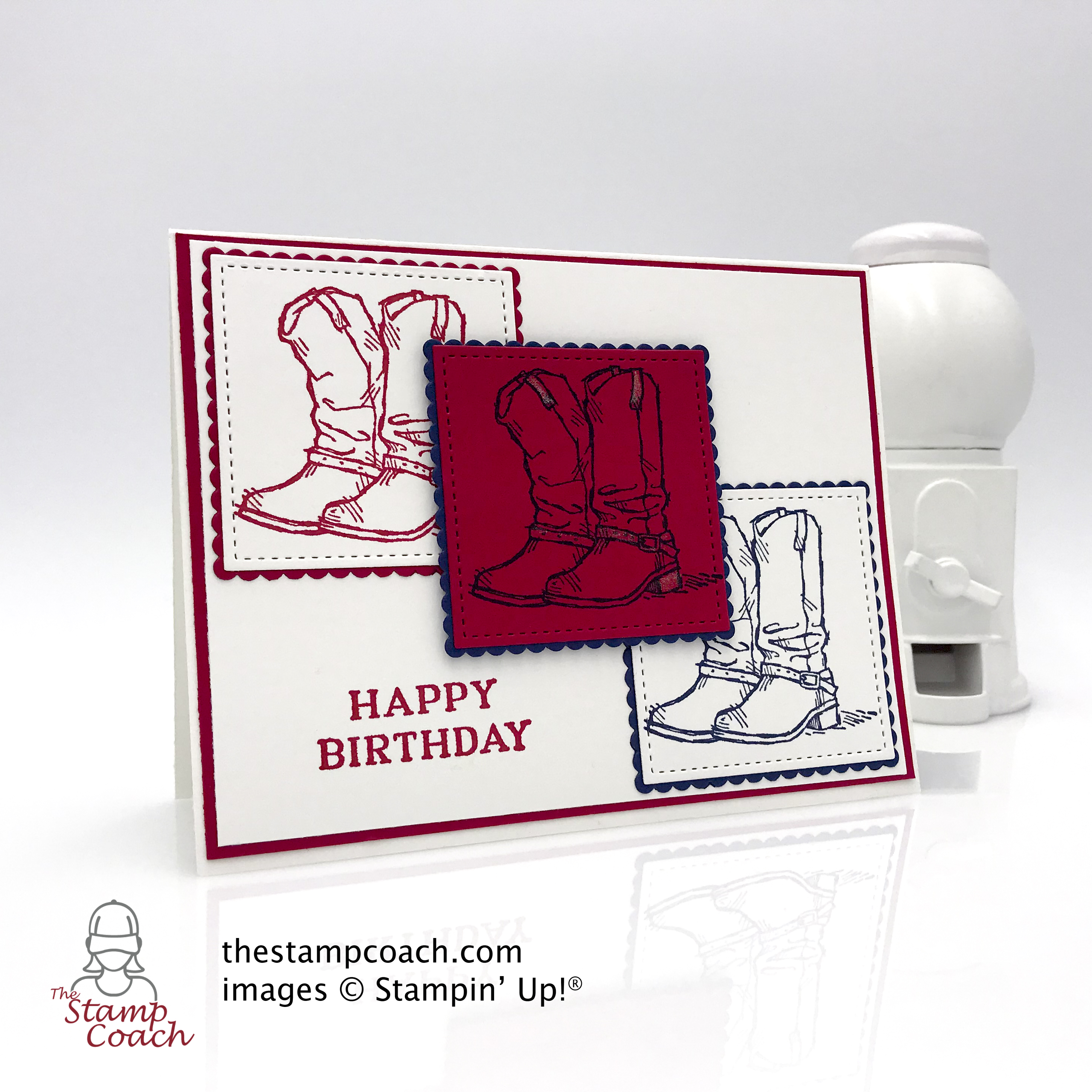 Country Living birthday card made by Linda Krueger of thestampcoach.com