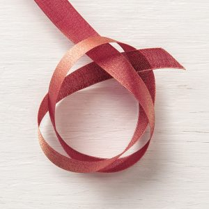 "Merry Merlot & Copper 5/8"" Reversible Ribbon © Stampin' Up!"