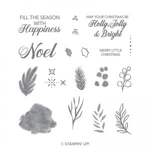 Peaceful Noel Stamp Set © Stampin' Up!