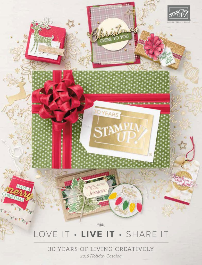 2018 Holiday Catalog by Stampin' Up! #stampcandy