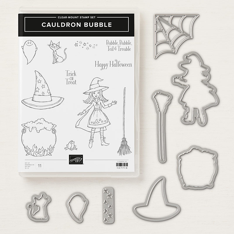 Cauldron Bubble Bundle © Stampin' Up!