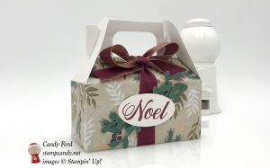 ICS Blog Hop August 2018, Passion for Punches, Sprig Punch, Peaceful Noel Bundle, Stampin