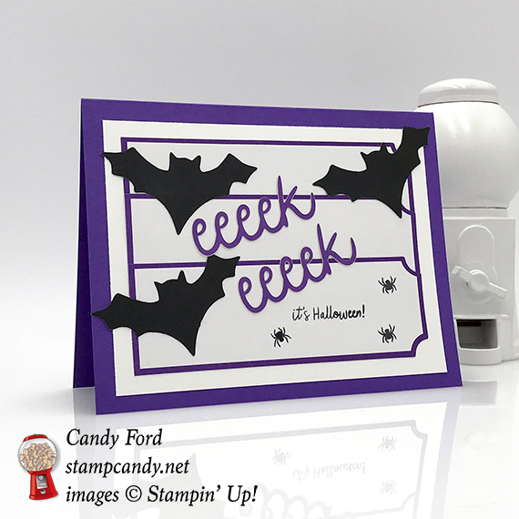 APPT Blog Hop - September 2018 Paper Pumpkin kit - Frights & Delights - alternative projects - Stampin' Up! #stampcandy