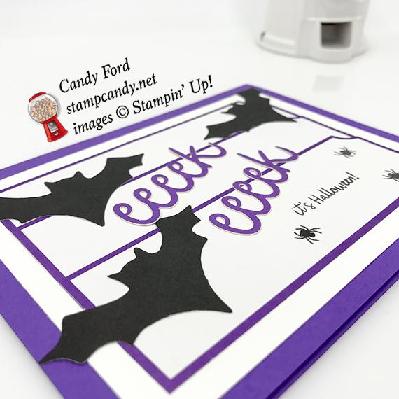 APPT Blog Hop - September 2018 Paper Pumpkin kit - Frights & Delights - alternative projects - Stampin' Up! #stampcandy