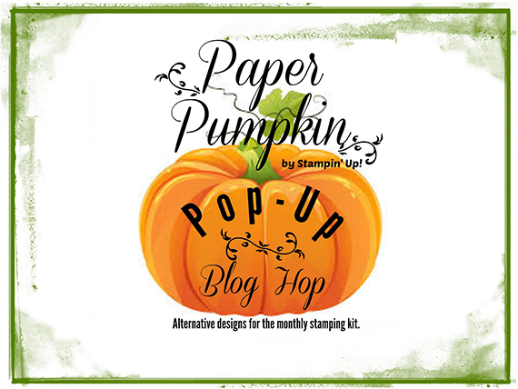Paper Pumpkin Pop Up Blog Hop