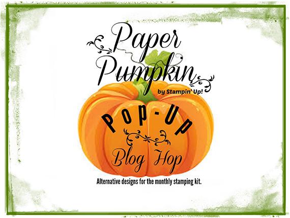 Paper Pumpkin Pop Up Blog Hop