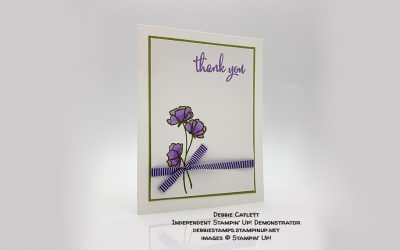 Love What You Do Thank You Card by Debbie Catlett