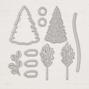 In the Woods Thinlits Dies © Stampin' Up!