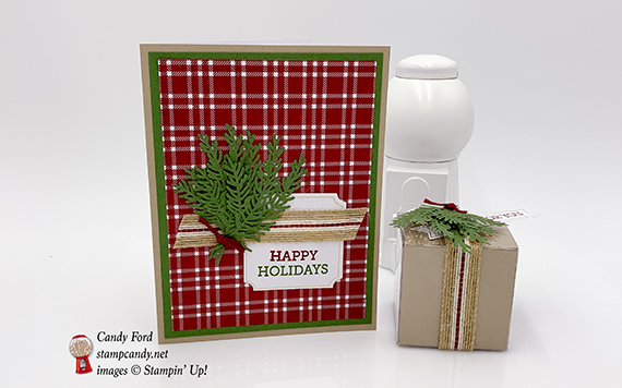 Paper Pumpkin November 2018 To You and Yours kit, alternative projects for APPT Blog Hop, Stampin' Up! #stampcandy