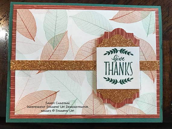 card made by Sandy Chastain of the Candy Hearts team of Stampin' Up! Demonstrators #stampcandy