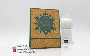 Snowflake Showcase Christmas card, Stampin
