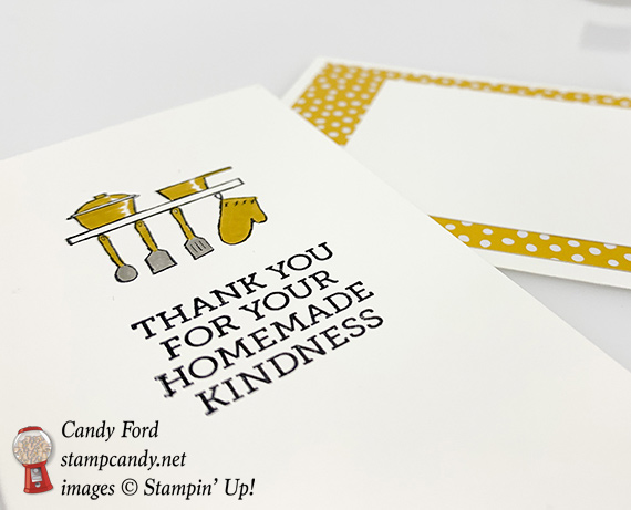 Stampin Up Homemade Kindness Christmas Card by Candy Ford of Stamp Cady