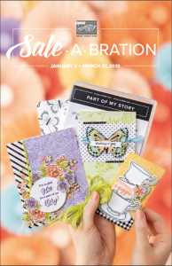 2019 Sale-a-bration Brochure © Stampin' Up!