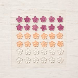 Frosted Flower Embellishments © Stampin' Up!