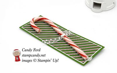 Flourish Filigree Candy Cane Holder