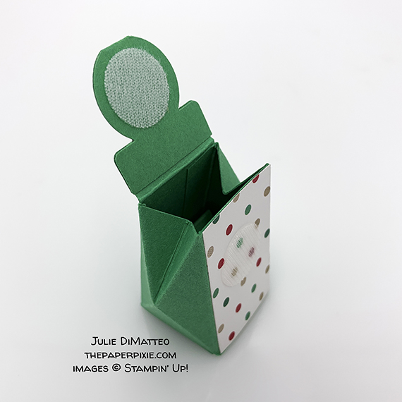 treat holder made by Julie DiMatteo, Stampin' Up!