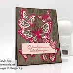 Beauty Abounds stamp set, Butterfly Beauty Thinlits Dies, bundle, Wood Textures paper, Stampin
