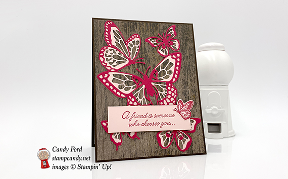 Butterfly Beauty Abounds Friend Card