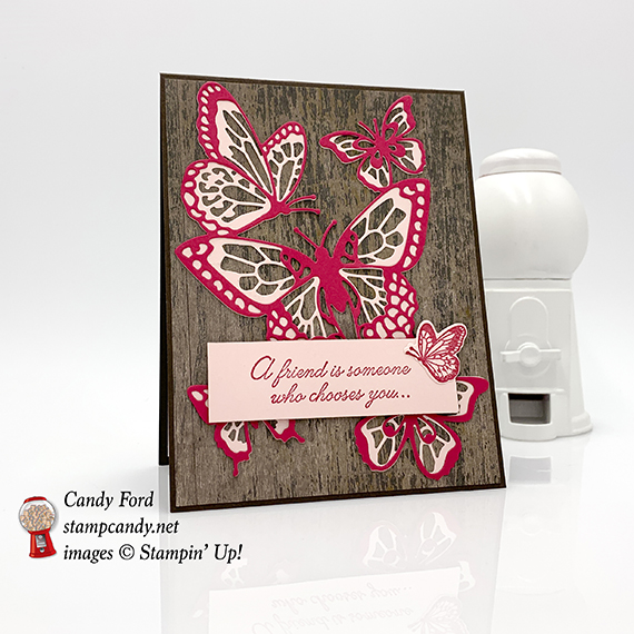 Beauty Abounds stamp set, Butterfly Beauty Thinlits Dies, bundle, Wood Textures paper, Stampin' Up! #stampcandy