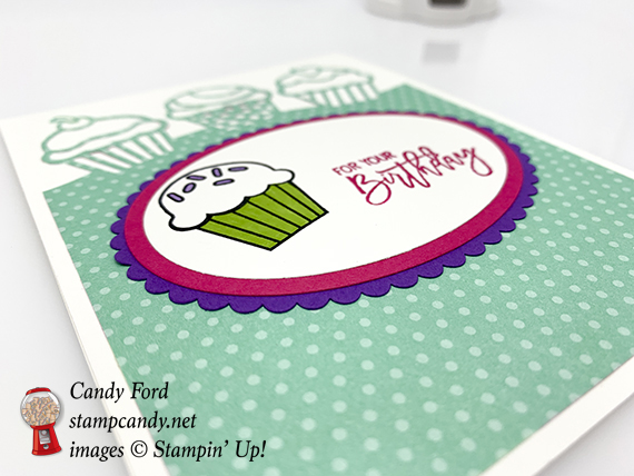 Birthday Cheer bundle, Detailed Birthday Edgelits Dies, How Sweet It Is paper, Layering Ovals Framelits Dies, Stampin' Up! #stampcandy