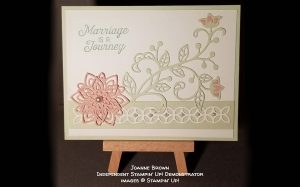 card made by Joanne Brown of the Candy Hearts team of Stampin