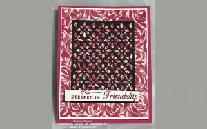 card made by Sandra Wilson of the Candy Hearts team of Stampin
