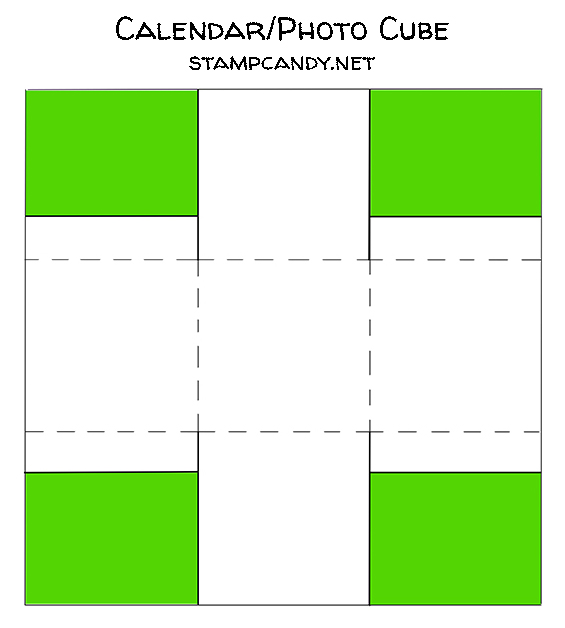 cube diagram for 2018-12 Paper Pumpkin alternate projects Candy Ford #stampcandy