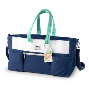 Craft & Carry Tote by Stampin' Up! only available when you join during Sale-a-bration, Jan 3- Mar 31, 2019.