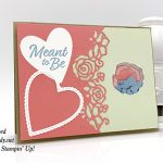 Forever Lovely Bundle and Be Mine Stitched Framelits Dies by Stampin