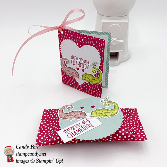 Stampin' Up! Paper Pumpkin kit for January 2019, Be Mine, Valentines, #stampcandy