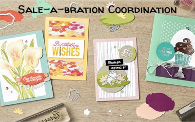 Sale-a-bration 3rd Release Items AND Sale-a-bration Coordination Items Available Now!