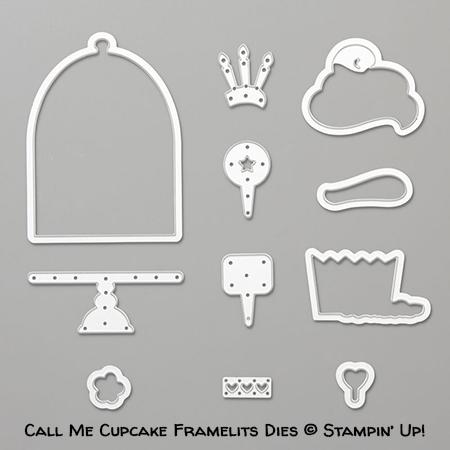 Call Me Cupcake Framelits Dies © Stampin' Up!
