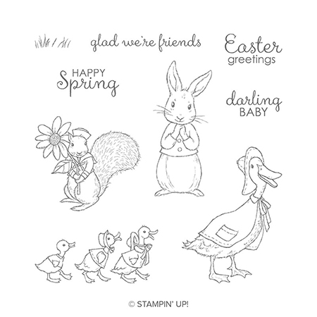 Fable Friends stamp set © Stampin' Up!