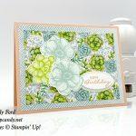 Painted Seasons stamp set, Four Seasons Framelits Dies, Stampin