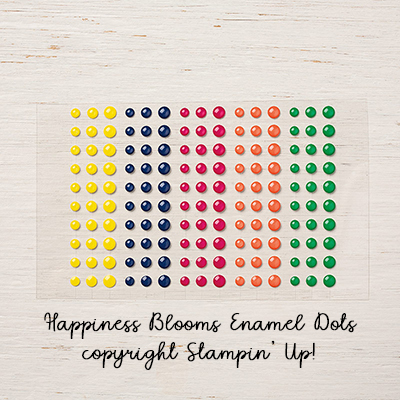 Happiness Blooms Enamel Dots © Stampin' Up!
