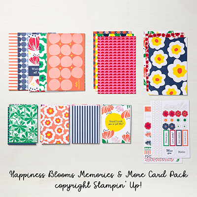 Happiness Blooms Memories & More Card Pack © Stampin' Up!