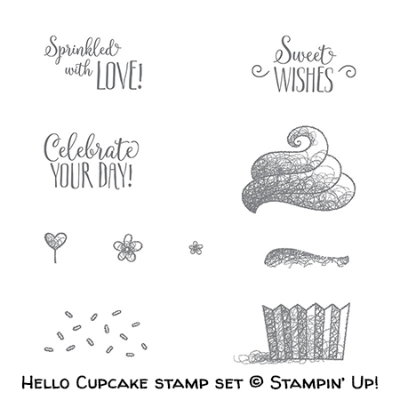 Hello Cupcake stamp set © Stampin' Up!