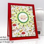 Part of My Story stamp set, Painted Seasons bundle, Four Seasons Framelits Dies, and Circle Punches from Stampin
