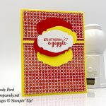 Part of My Story stamp set, Story Label Punch, Painted Seasons paper from Stampin